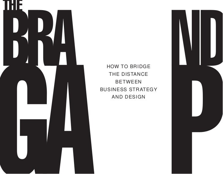 HOW TO BRIDGE  THE DISTANCE    BETWEENBUSINESS STRATEGY   AND DESIGN