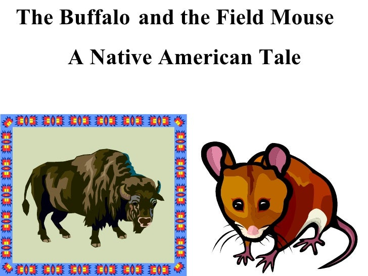 and the Field Mouse A Native American Tale The Buffalo