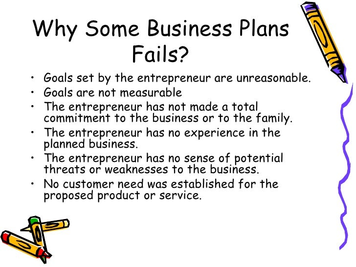 Here shop Reasons Why Business Plan Fails able