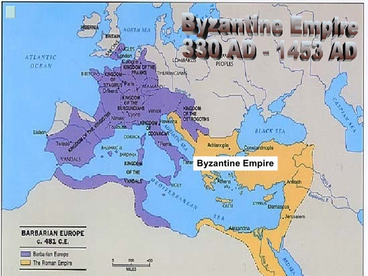 End of the byzantine empire