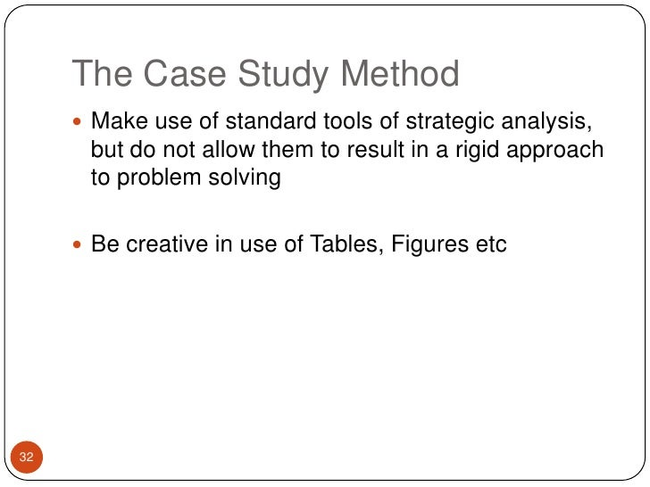 appropriate use of case study method A case study is an idiographic method that obtains in-depth and detailed study of an individual or a group and is often used due to unusual circumstances of the participant/s the method was popularly used within the area of psychoanalysis.