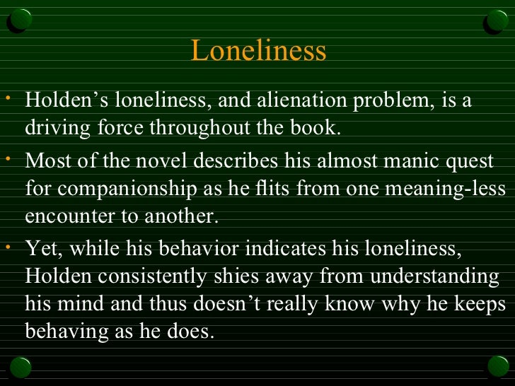 theme of alienation n no where Top 10 films about loneliness and isolation  the picture is yet another example of cinema attempting to discuss themes as troubling to mankind as alienation .