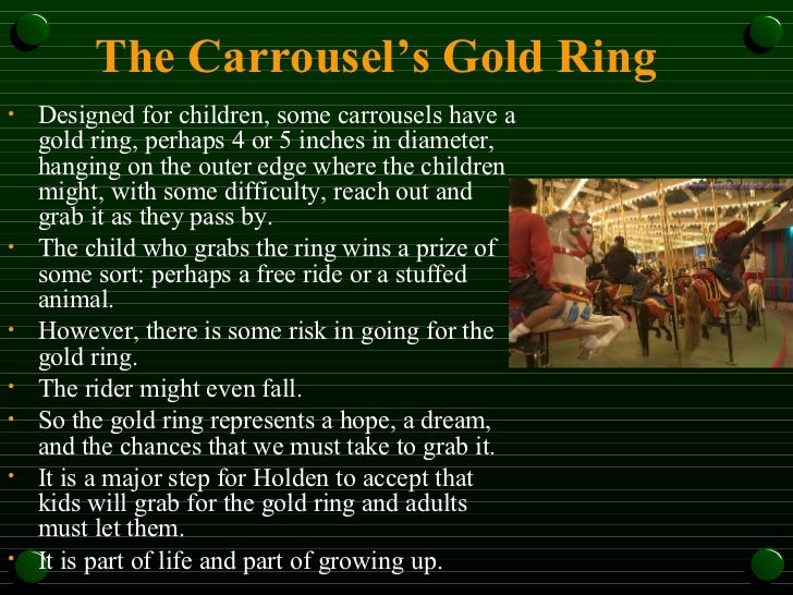 the catcher in the rye themes symbols motifs the carrousel s