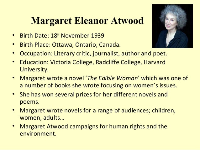 february by margaret atwood essay The book came out in the uk in february of 1986,  but with an essay about the regime written in the past tense and in  margaret atwood margaret atwood is a.