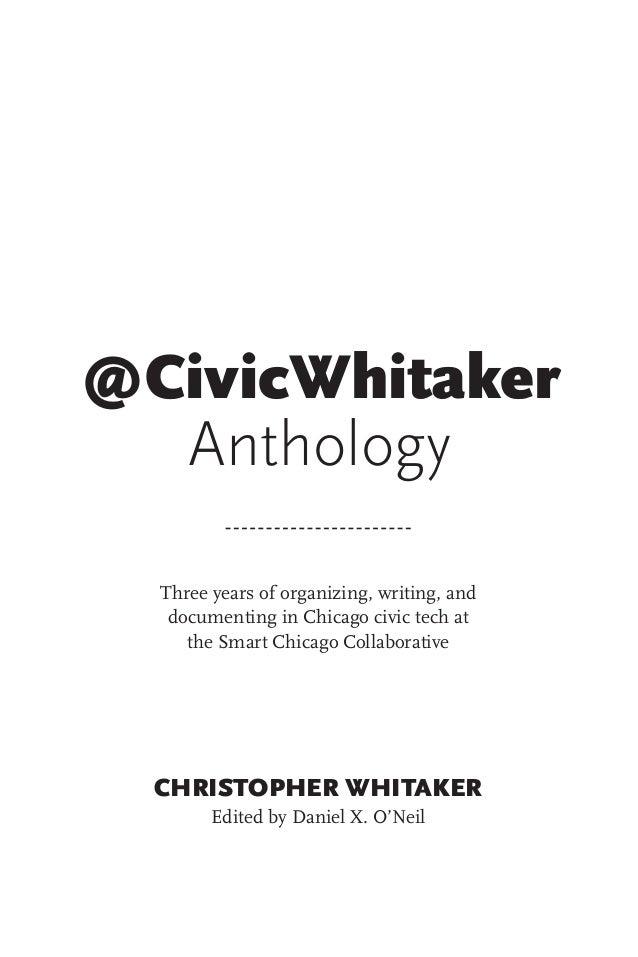 essay anthology chicago