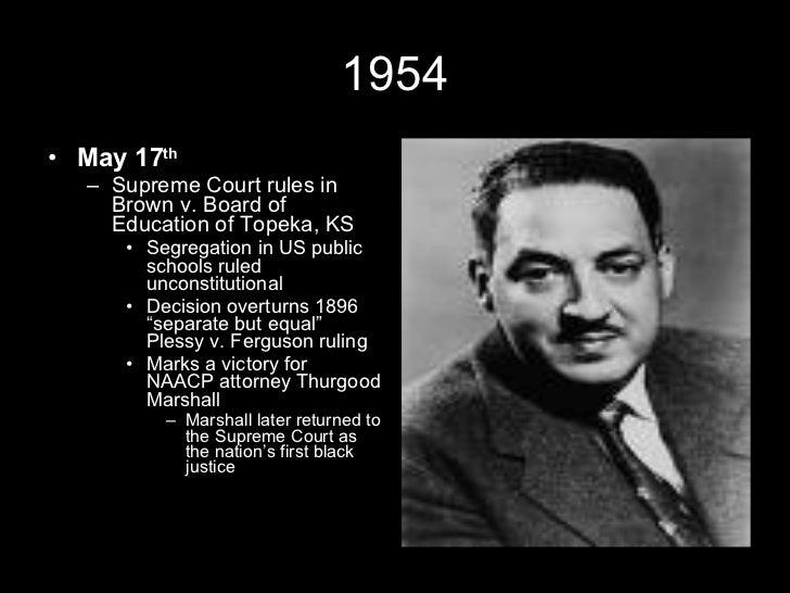 The Civil Rights Movement Timeline Slide 2