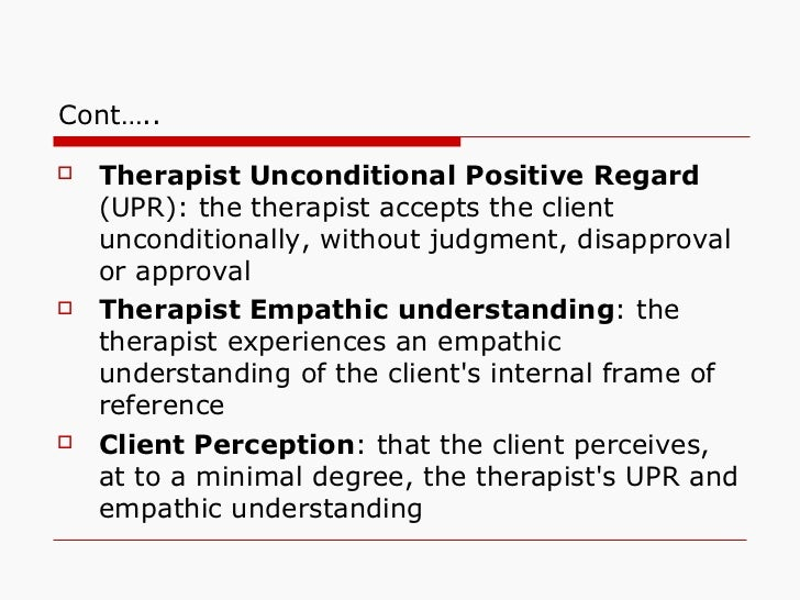 case study using person centered therapy Person-centered theory does not pathologize clients hazler [] carl rogers, founder of person-centered therapy person-centered theory places the client as the expert rather than the.