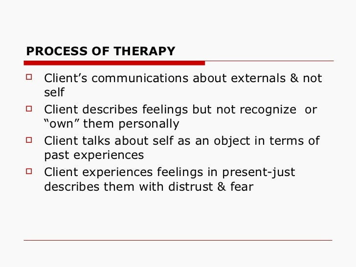 Client centered therapy 11 process of therapy negle Gallery