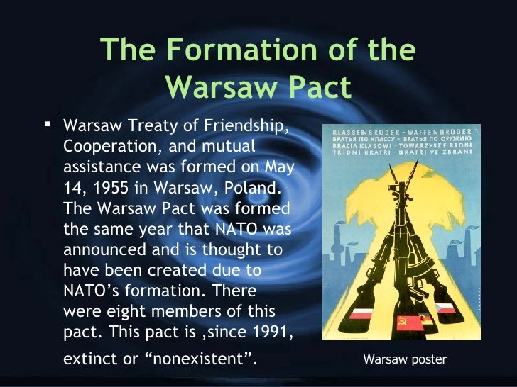 why did the warsaw pact intervene Why didn't the soviet union overtly annex the countries of the the controlled the warsaw pact yet crucially the ussr did not intervene in poland in the.