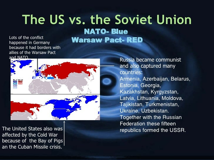 cold war us started it Posted september 24, 2013 franklin roosevelt's vision of a neocolonial world system with us hegemony and cooperation among the global powers, including the soviet union, was cast aside by the ideological construction of the cold war, which defined communism as evil and expansionist, requiring.
