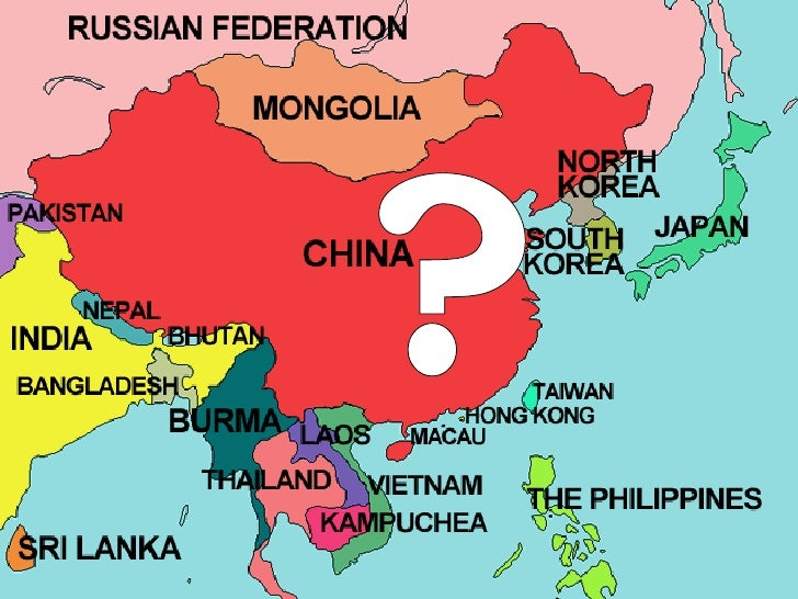 Cold War Map Of Asia.The Cold War In Asia
