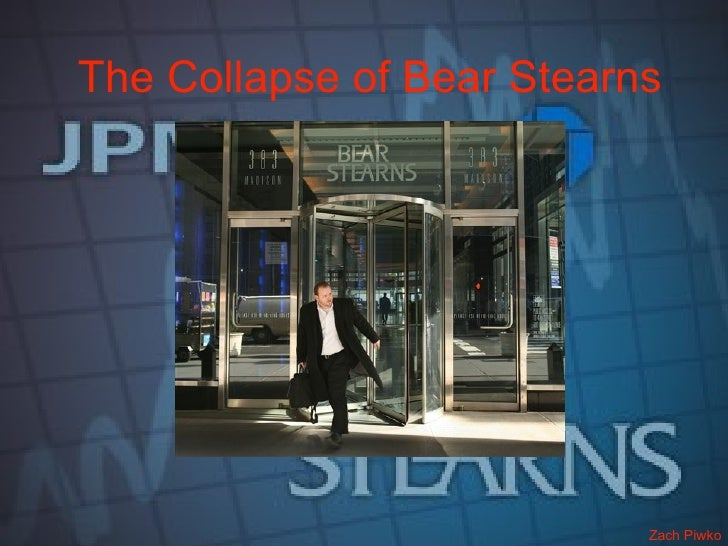 Dissecting The Bear Stearns Hedge Fund Collapse