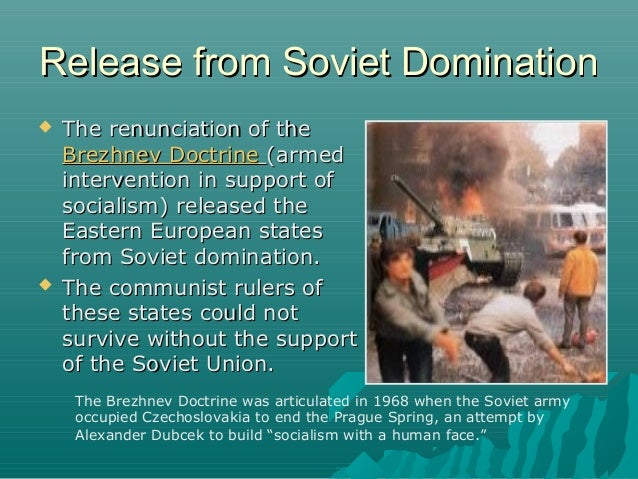the history of the collapse of the soviet union A lesson that today's policymakers can learn from the history of imperial collapse is that in the final years of the soviet union, its foreign policy was.