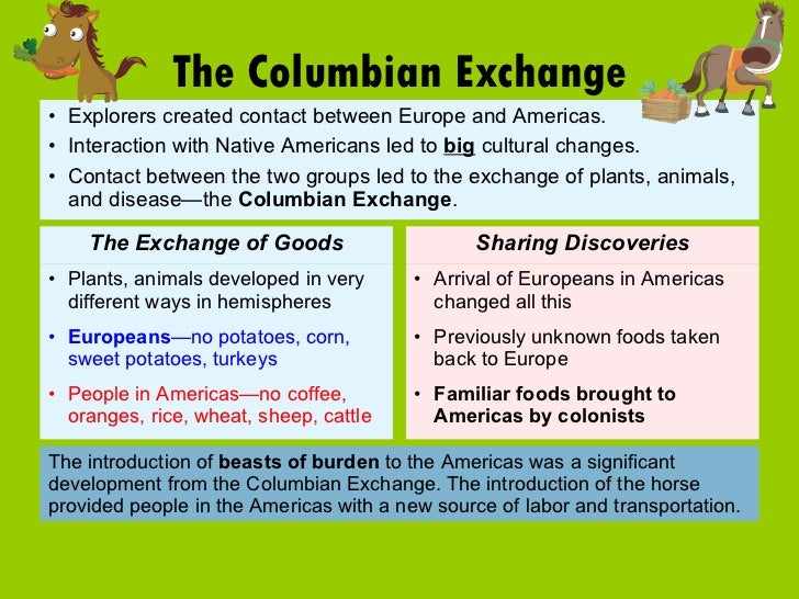 what was the columbian exchange