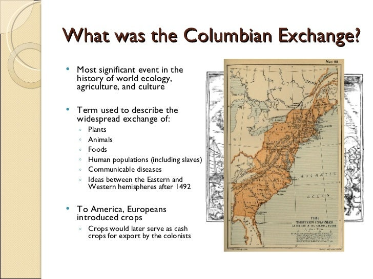 Negative effects of the columbian exchange essay