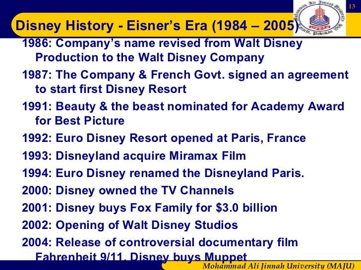 The Company Presentation - Walt Disney
