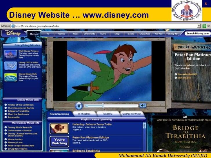 The Company Presentation Walt Disney
