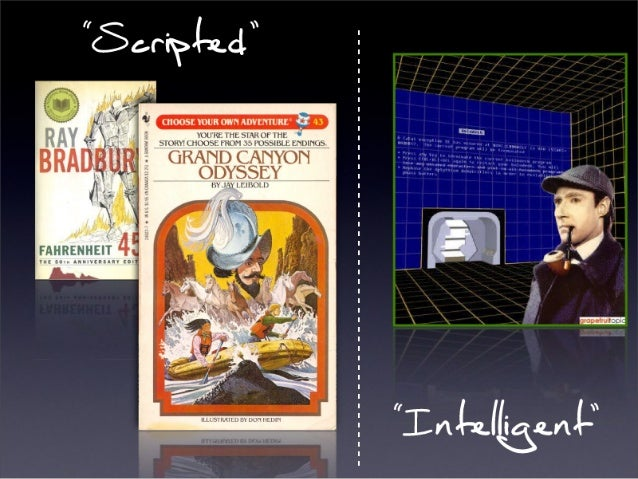 (This example pulled from a slide from Will Wright)