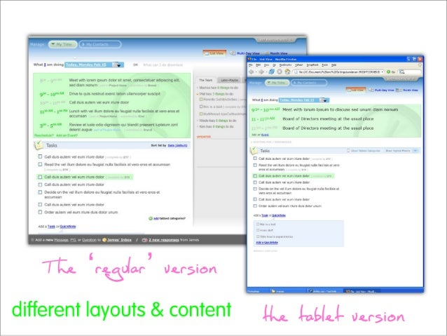 Content  Ad Ive  Adaptable  (personalization/ customization)  Ul