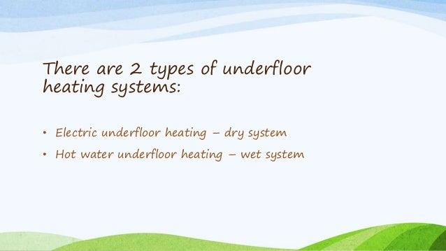 The Cost Of Underfloor Heating