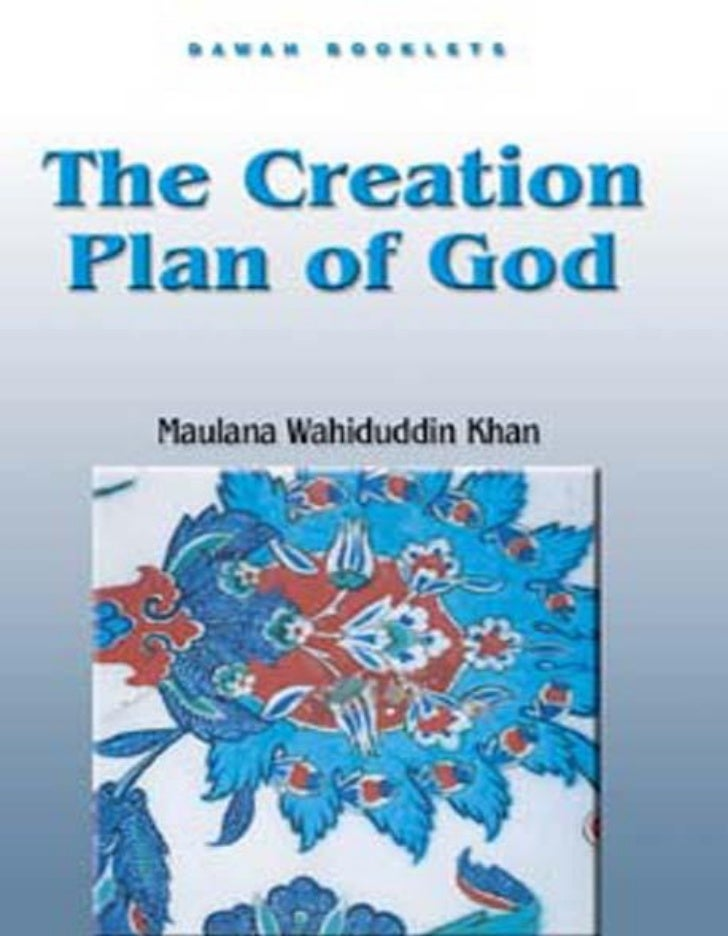 The Creation Plan of God                               Table of ContentsTABLE OF CONTENTSTable of Contents...................