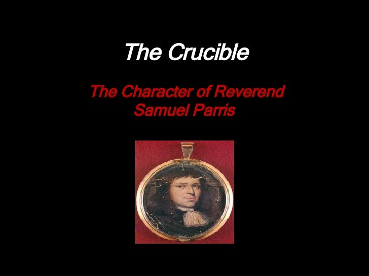 The Crucible. Comparison of Characters Essay