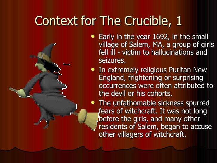 crucible grudges vs the salem Most parents will someday see arthur miller's play the crucible, about the infamous 1692 salem witch trials, on their teen's english class required reading.