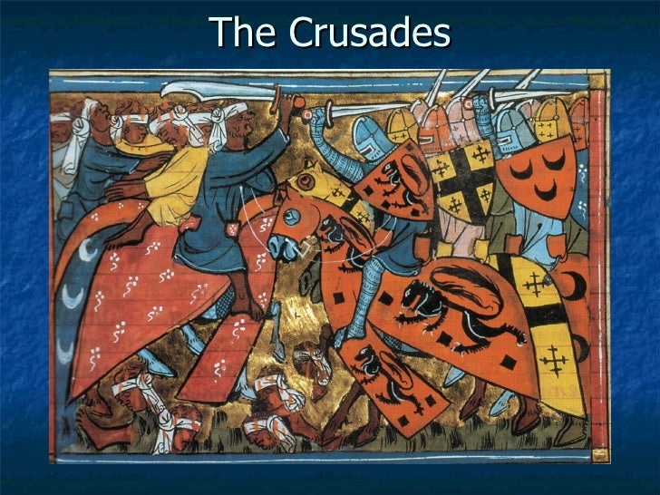 Technological advancements from the crusades