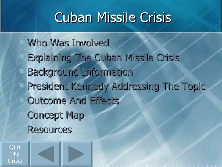 president kennedy and the cuban missile crisis essay
