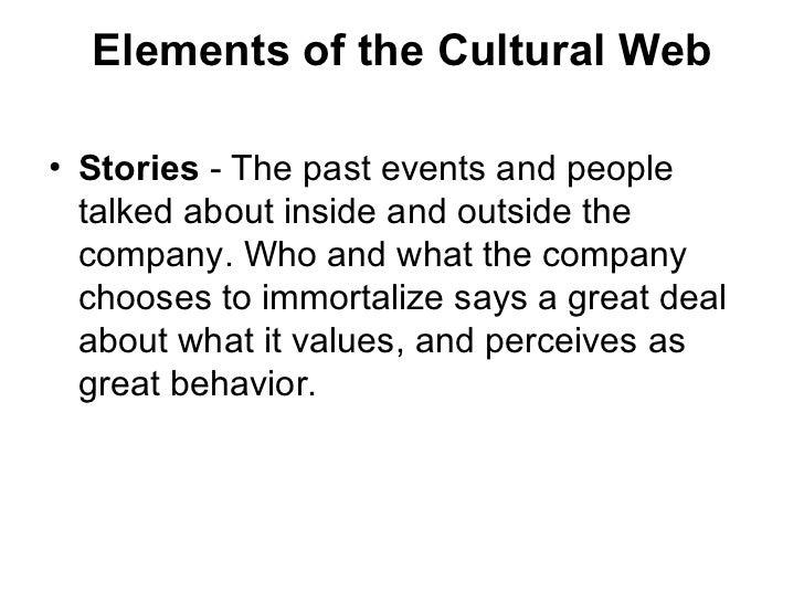 The Cultural Web 2 Elements Of