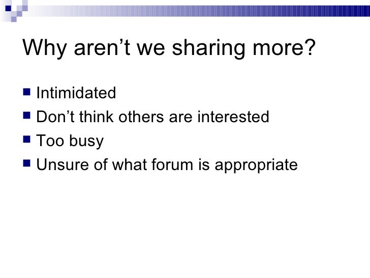 The Culture of Content Sharing and Learning Objects Slide 3