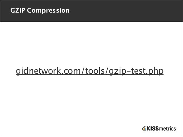 GZIP Compression  gidnetwork.com/tools/gzip-test.php