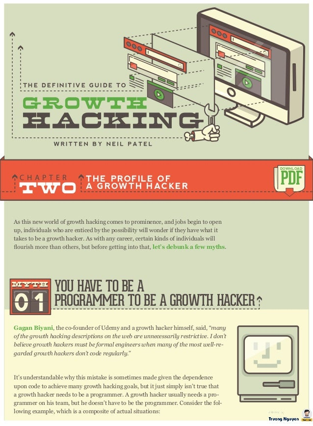As this new world of growth hacking comes to prominence, and jobs begin to open up, individuals who are enticed by the pos...