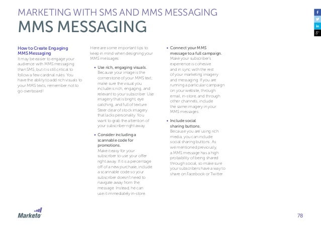 Gua de mobile marketing marketing with sms and mms messaging mms messaging 78 fandeluxe
