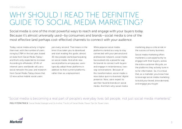 The definitive-guide-to-social-media-marketing-marketo Slide 3