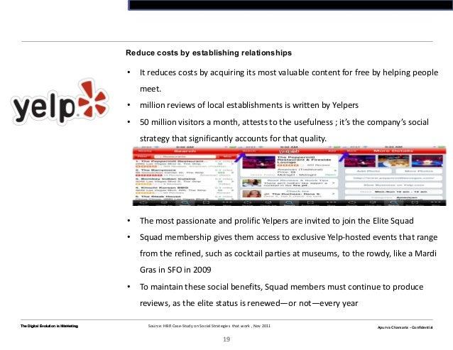 Apurva Chamaria - ConfidentialThe Digital Evolution n Marketing19Apurva Chamaria - ConfidentialReduce costs by establishin...