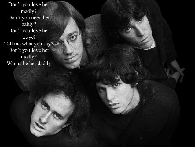 THE DOORS- LOVE HER MADLY; 2.  sc 1 st  SlideShare & The doors-love-her-madly