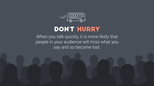 Public Speaking: Do's and Don'ts