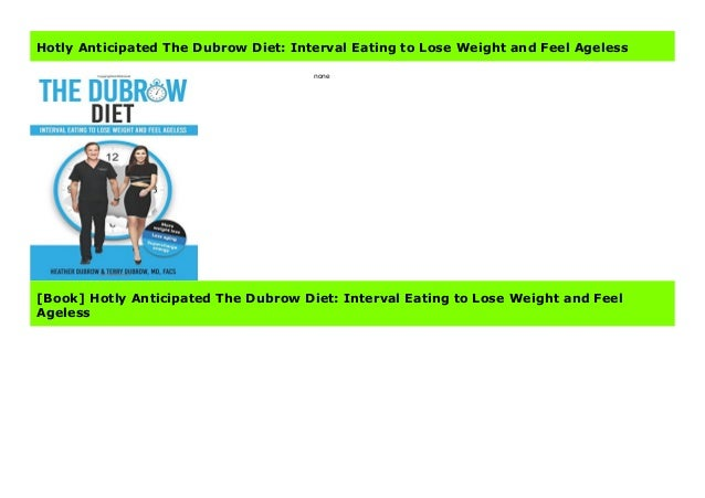 what is the dubrow diet pdf