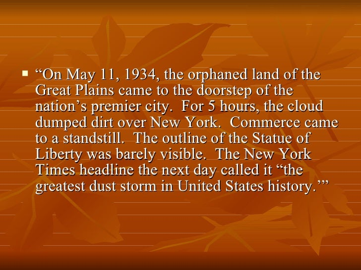 the cause of the dust bowl The dust bowl was caused by several economic and agricultural factors,  including federal land policies, changes in regional weather, farm economics and  other.