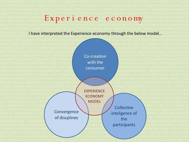 Experience economy use it, break it, fix it, trash it, change it, mail it, tune- upgrade it, charge it, point it, zoom it,...