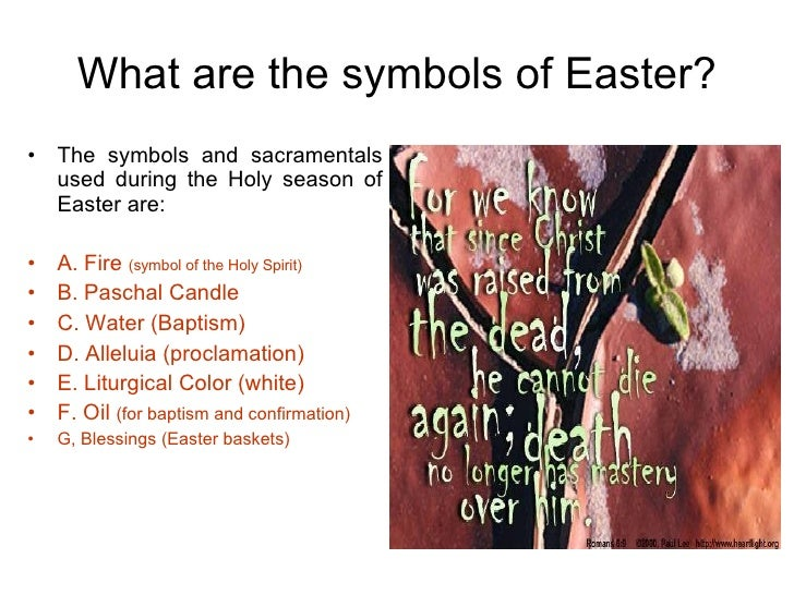 The Easter Season
