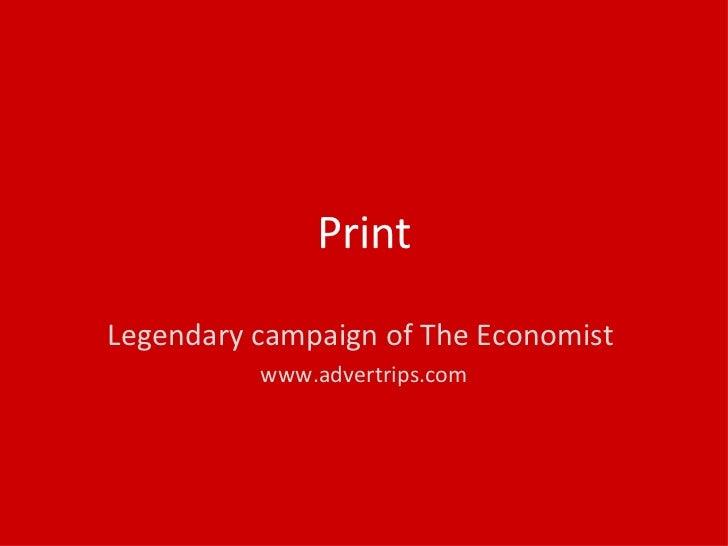 The Economist Creative Advertising Slide 3