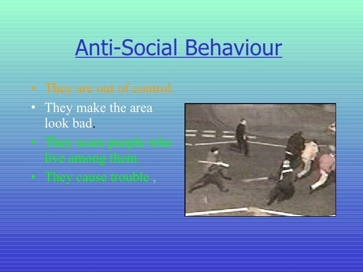 What Is the Effect of Gangsterism in Schools?