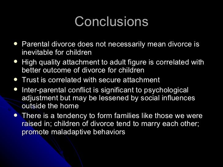 "the effects of divorce on the behavioral social academical and psychological problems of children The effects of divorce on children  stimulation of academic behavior, encouragement of social maturity,  ""children's behavior problems in single-parent and."