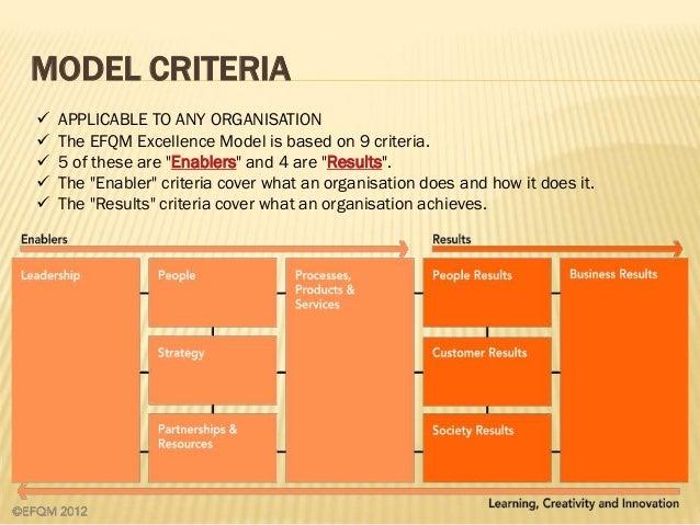Model pdf excellence efqm