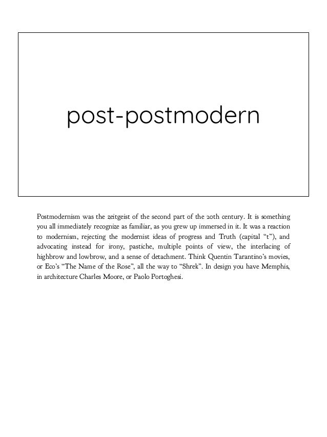 postdigital It is also a post-digital, not a digital culture. It implies digital just like we imply electricity. Nobody in...