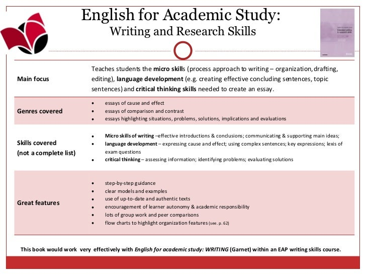 the english centre presents english for academic skills resource books  4 english for academic