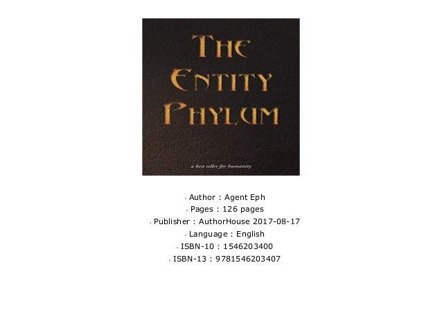 Premium The Entity Phylum