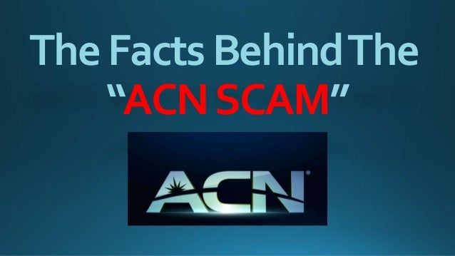 "TheFactsBehindThe ""ACNSCAM"""